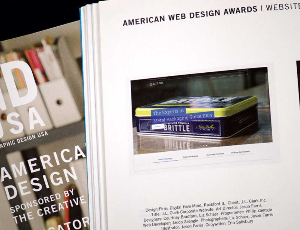 Digital Hive Mind Wins American Web Design Award