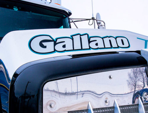 Digital Hive Mind Hired by Gallano Trucking for Photography
