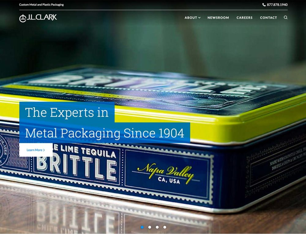 Digital Hive Mind Launches New Content Managed Website for J.L. Clark